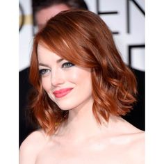 Emma Stone and Alan Cumming are Best Dressed at the Golden Globes... ❤ liked on Polyvore featuring emma stone