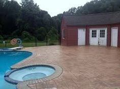 Image result for concrete pool decks