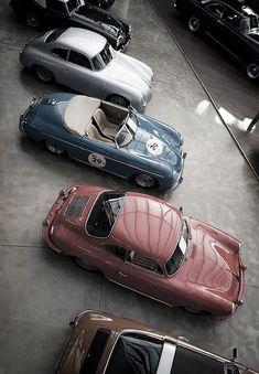 Assorted Porsches