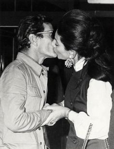 Maria Callas and Pier Paolo Pasolini – The Vampire's Wife Opera Music, Opera Singers, Maria Callas, The Vampires Wife, Leonard Bernstein, Greek Tragedy, Jacqueline Kennedy Onassis, Famous Singers, Film Director