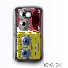 shocked spongebob squarepants and patrick star copy for Nexus 4/Nexus 5/Nexus 6 Phonecases