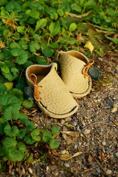 BABY Soccasins! Our soft leather Soccasins are comfortable and great for slipping on your wee babes feet and slipping out the door! Let your