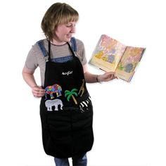 how to make a storytelling apron