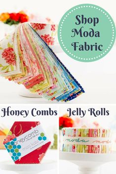 Enjoy bright hues and inviting prints with quilting fabrics from Moda! Quilting Tips, Quilting Projects, Sewing Projects, Quilting Fabric, Fabric Crafts, Sewing Crafts, Quilt Patterns, Sewing Patterns, Do It Yourself Home