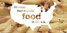 40 maps that explain food in America