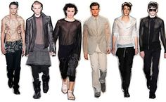 High Fashion Trend - Transparency