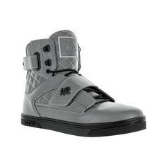Men's Vlado Atlas 3M ($75) ❤ liked on Polyvore featuring men's fashion, men's shoes, men's sneakers, casual, sneakers, mens high top shoes, mens grey sneakers, mens black hi top sneakers, mens gray shoes and mens hi top shoes