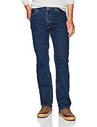 Wrangler Authentics Men's Big & Tall Regular Fit Comfort Flex Waist Jean, Dark Stonewash, x – Jodyshop Jeans Fit, Jeans Style, Jeans Pants, Denim Jeans, Skinny Jeans, Stylish Jeans, Comfortable Jeans, Online Shopping Usa, Latest Clothes For Men