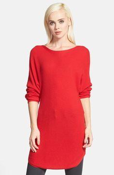 Trouve Trouvé Shirttail Hem Sweater available at #Nordstrom - $83