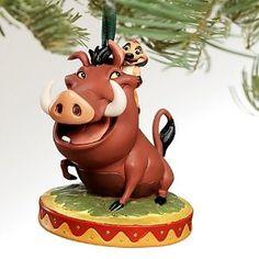 Timon and Pumba Lion King Disney Ornament