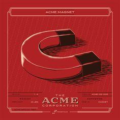 Los inventos ACME ilustrados por Rob Loukotka