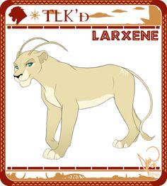 [ old ] - TLK'd Larxene by ipqi.deviantart.com on @DeviantArt