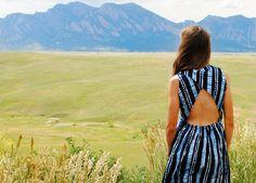 Trash to Couture: Shibori Dress