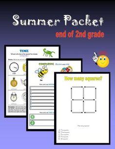 37 Best Summer packets images in 2019 | Summer school, Child