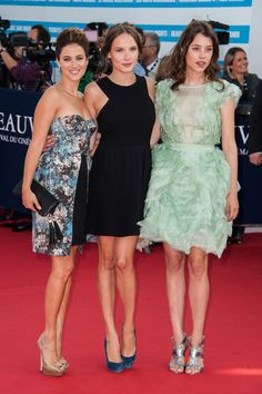 Astrid Berges Frisbey Photo - Opening Ceremony - 38th Deauville American Film Festival