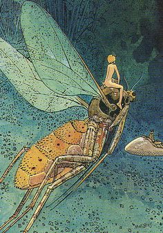 82_THE FIRST LEVEL   Moebius collector card 82. The first le…   Jens   Flickr