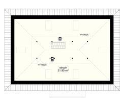 Projekt domu Zacisze IV 107.48 m² - Domowe Klimaty Chart, Log Projects
