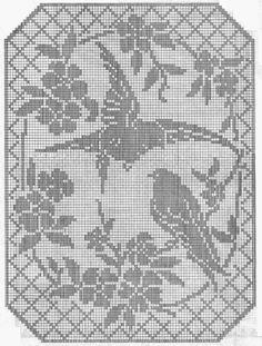 Rabarbarum: Crochet / would be lovely framed.
