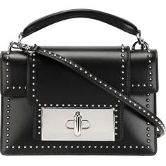 Marc Jacobs Mischief Studded Tote (5.800 BRL) ❤ liked on Polyvore featuring bags, handbags, tote bags, black, marc jacobs handbags, kiss-lock handbags, top handle handbags, tote purses and tote handbags