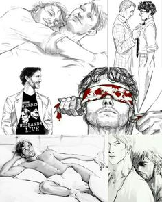 Hannibal Lecter, Nbc Hannibal, Will Graham Hannibal, Hannibal Tv Series, Yuri, Dark Souls Art, Dark Art Drawings, Psychological Horror, Fandoms