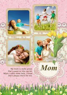 #MothersDay  is just around the corner. Make a greeting card to thank her!