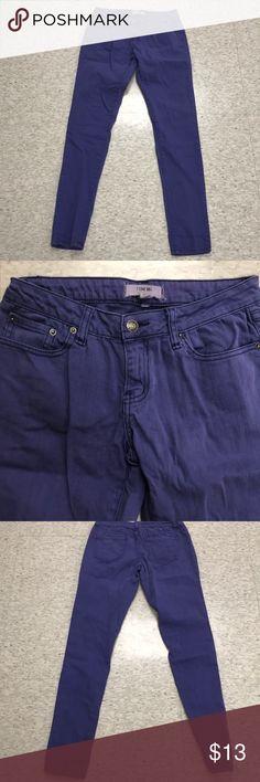 Women's jeans Women's skinny jeans light/med purple in good condition Jeans Skinny