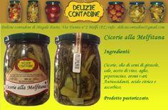 Cicorie alla Melfitana in olio di semi   Delizie Contadine