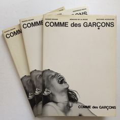 Showing off. Back in the Comme des Garçons 1998 brand book game. Last week TWO copies. This week THREE! That's enough for... three people anyway! Email if you want@idea-books.com #commedesgarcons #bump #jimbritt