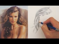 How to Draw Hair the Easy Way: This was the tutorial that really helped me to draw realistic hair!