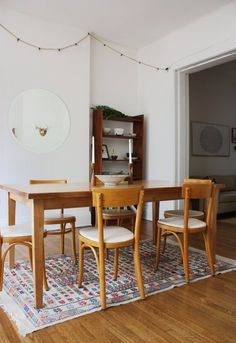 Love this dining room (and the rest of this house) via Apartment Therapy