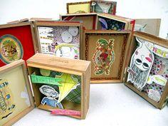 Kim Welling Inspired Shadow Box | small hands big art