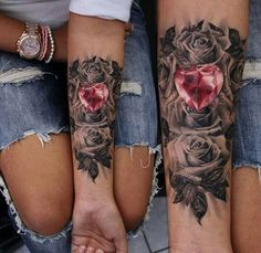 Tattoo by Moni Marino | Forearm TAttoo |  tattoofreakz.com