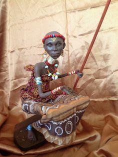 guibonecos: clay sculptures