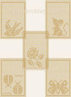 FSL Crochet Lavender Sachet machine embroidery designs set