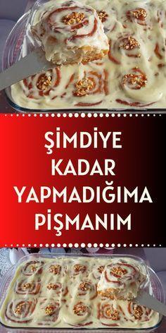 Cookie Recipes, Snack Recipes, Dessert Recipes, Just Desserts, Delicious Desserts, Dinner Rolls Recipe, Turkish Recipes, Pain, Good Food
