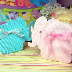 Elephant Favor Boxes by Beau-coup