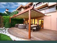 Image result for pergola with roof