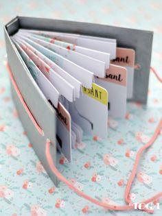 [TUTO] Idée Cadeau Fête des mères N°1 : Un porte-cartes DIY – Le blog Scrapmalin