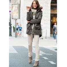 La parka tout simplement ! #mode #manteau #parka #SoftGrey #laredoute > http://www.laredoute.fr/vente-parka-a-capuche-femme.aspx?productid=324450915