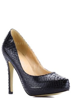 Stiletto Heel Snake Print Pumps $46 #shoes #heels #snake #pumps #fashion #accessories #style #Shopping #pinoftheday #ootd #clothing #shop #zaful