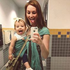 Like Mother, Like Daughter: 10 Adorable Photos Of Moms And Their Mini-Mes