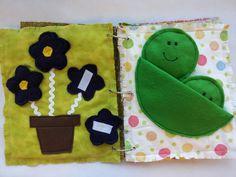 Quiet book - Busy Book -Activity Book -Toddler Book -Fabric Book