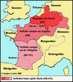Royaume de Clovis , Roi de France