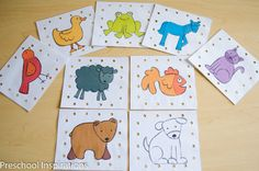 A perfect lacing activity inspired by Brown Bear   Preschool Inspirations