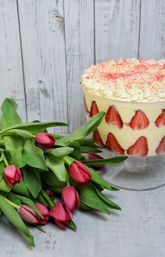 EPRES TRIFLE – ANGOL KRÉMDESSZERT – DOLCE FAR NIENTE Trifle, Macarons, Watermelon, Panna Cotta, Muffin, Fruit, Ethnic Recipes, Raffaello, Dulce De Leche