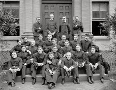 Navy Cadets, 1894. Great faces!