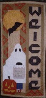 Welcome Halloween Quilt Pattern