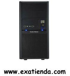 """Ya disponible Caja micro atx elite 342 s/fuente   (por sólo 41.99 € IVA incluído):   -Formato:Micro-ATX -Bahias externas: 2 x5.25"""" 1 x 3.5"""" -Bahias internas: 5 x 3.5"""" -Conectores frontal: 2 x USB 2.0 1 x Spkeaker 1 x Audio 1 x IEEE 1394a (opcional) 1 x e-SATA (opcional) -Ventilador adicional: Frontal:Ventilador de 120 x 25mm / 1200 RPM / 17 dBA (pre-instalado) ; 80mm / 90mm (opcional) Trasera:Ventilador de 80 / 90 mm (opcional) -Fuente:Sin Fuente -Medidas:180x352x440 mm -"""