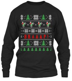 Dirtbikers Ugly Christmas Sweater Shirt | Teespring For the hubby :D