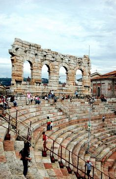 Verona, Roman Theater, Verona, province of Verona , Veneto region Italy